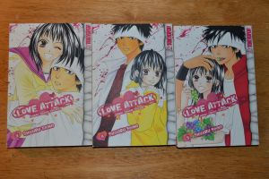 SALE: Love Attack Manga by CosplayMangaBuy