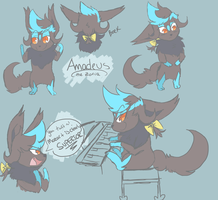 Beethoven's 5th [Amadeus doodles] by Seoul-Dew