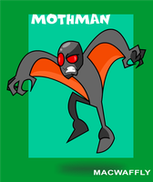 Legends and Myths 1 MOTHMAN by MacWaffly