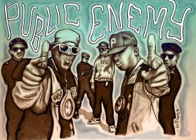 Revolutionary Minds : Public Enemy by Insanemoe