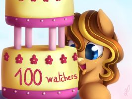 100 Watchers !! by DivLight