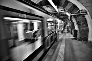 the tunnel - istanbul by tolgag