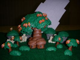 New Super Mario Bros. U - Acorn Plains by Plucsle