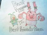 Krabs and Plankton were never meant to be friends. by Angelgirl10