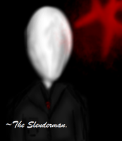 [.Brush.] ~The Slenderman. by InsaneCuteKitty
