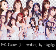 PNG Dasom [14 renders] by ~lagsiga by lagsiga