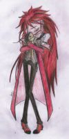 Sad Grell color by Draghessa