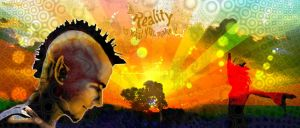 Reality by rawified by psychedelics