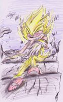Fleetway supersonic: waiting for a nightmare by shadowninja3