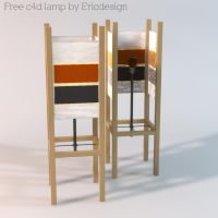 free c4d lamp by 3DEricDesign