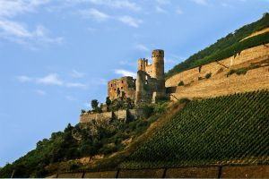 Germany - Burg Ehrenfels by touch-the-flame
