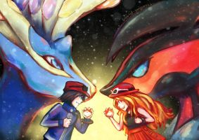 X and Y by Scarlet-Songstress