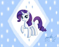My little Rarity by LimeLover
