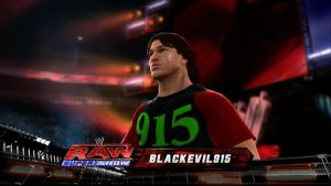 Blackevil915 on WWE by ChaosPower11