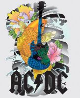 ac dc koi by RosalineElric