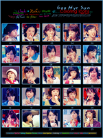 Hye Sun's Coloring Icons 1 by o00khanhlynk00o