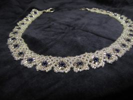 Simple necklace - white by Yanagi-no-Yume
