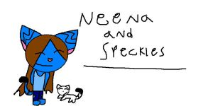 AT-neena and speckles by pikichu99