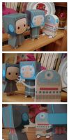 paper toys. They are coming..4 by RozennB