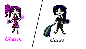 NEW OCS, Curse AND Charm by CelestialLucent