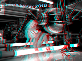 Captive 3D Anaglyph by Osipenkov