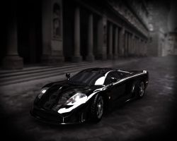 Saleen S7 Compositing by VitriviusO3