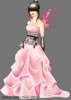 Gown by Audriana