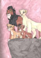King Scar's family: SP fs by KHwhitelion