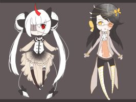 Classical Adoptables- CLOSED by piesuki