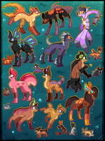 21 FREE creature adoptables CLOSED by Roxalew