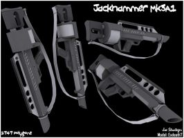 MK3A1 JackHammer Shotgun by Exdeath