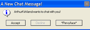 A New Chat Invite by EmbraceDawn