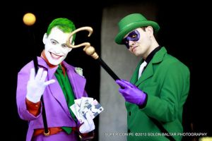 The Riddler and Joker by ArlindoAlves