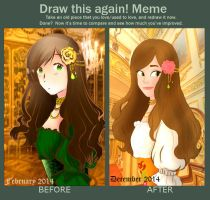 Meme  Before And After By Andi-chin by Andi-Tiucs