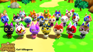 (MMD Model) Cat Villagers Download by SAB64