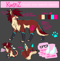 KwinZ Reference sheet by kwinzilla