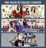 PSD Pack by Milkie Cookie by strawberryminna112