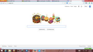 Google Wishes Me A Happy Birthday! by SalamenceCake