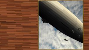 AIRSHIP USN Coming home uss macon by PanzerBob