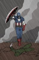 Captain America -Early Colors by Bowsky