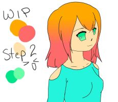 WIP Girl: Step 2 by MelodicMarzipan