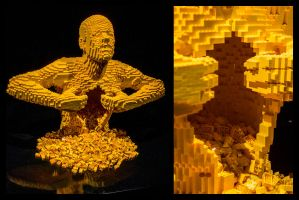 14-10 London - Art of Brick - Yellow by evionn