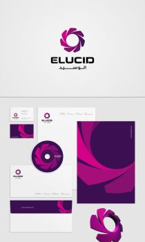 Elucid corporate identity by khawarbilal