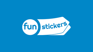 Fun Stickers Logo Presentation by atty12