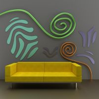 Yellow Couch by kratzdistel