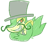 Snivy Vinewhiplash by raizy