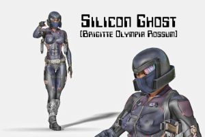 Silicon Ghost by Asymptotic-Aardvark