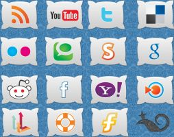 Pillow icons by InterGrapher