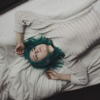 on the bed by alice-strawn