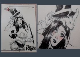 Comicsxafrica labels - Zatanna by elena-casagrande